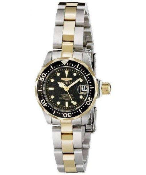 Invicta Pro Diver Quartz Two Tone 8941 Womens Watch