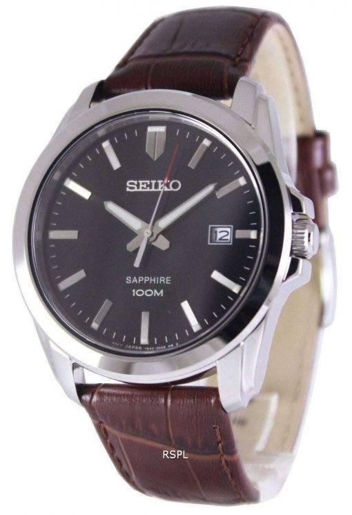 Seiko Neo Classic Quartz Sapphire 100M SGEH49P2 Men's Watch