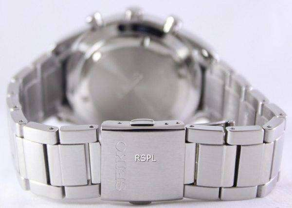 Seiko Chronograph Quartz 100M SSB087P1 SSB087P Mens Watch