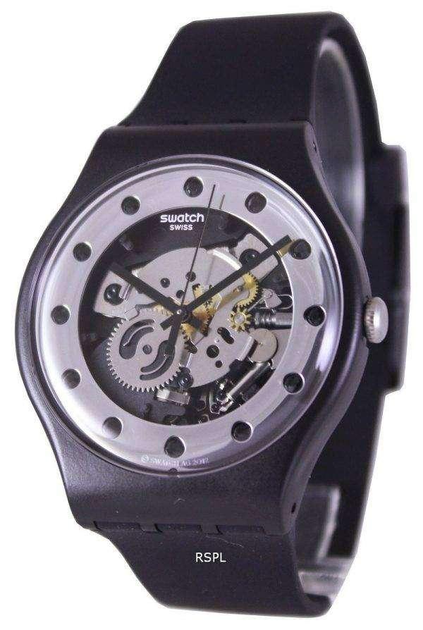 Swatch Originals Silver Glam Swiss Quartz SUOZ147 Unisex Watch