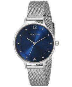 Skagen Anita Crystal-Accented Mesh SKW2307 Women's Watch