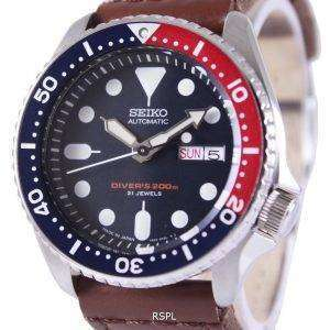 Seiko Automatic Divers Canvas Strap SKX009J1-NS1 200M Mens Watch