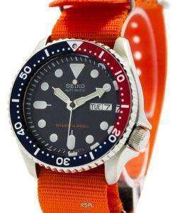 Seiko Automatic Diver's 200M NATO Strap SKX009K1-NATO7 Men's Watch