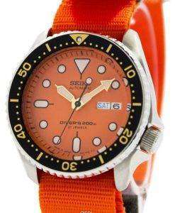 Seiko Automatic Diver's 200M NATO Strap SKX011J1-NATO7 Men's Watch