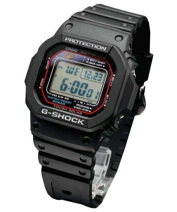 Casio G-Shock Tough Solar Multi-Band 6 GW-M5610-1JF Mens Watch ... 38195a769f