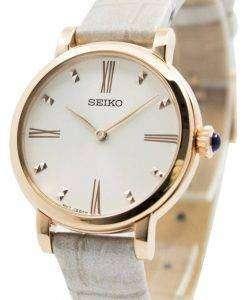 Seiko Quartz Leather Strap SFQ812P1 SFQ812P Women's Watch