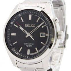 Seiko Kinetic Black Dial 100M SKA719P1 SKA719P Men's Watch