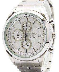 Seiko Quartz Chronograph SSB173P1 SSB173P Mens Watch