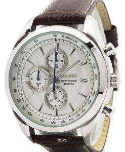 Seiko Quartz Chronograph SSB181P1 SSB181P Mens Watch