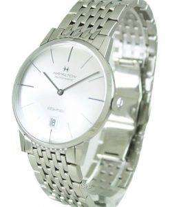 Hamilton Automatic Intra-Matic Silver Dial H38455151 Mens Watch