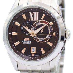 Orient Sporty Automatic Brown Dial ET0X003T Mens Watch