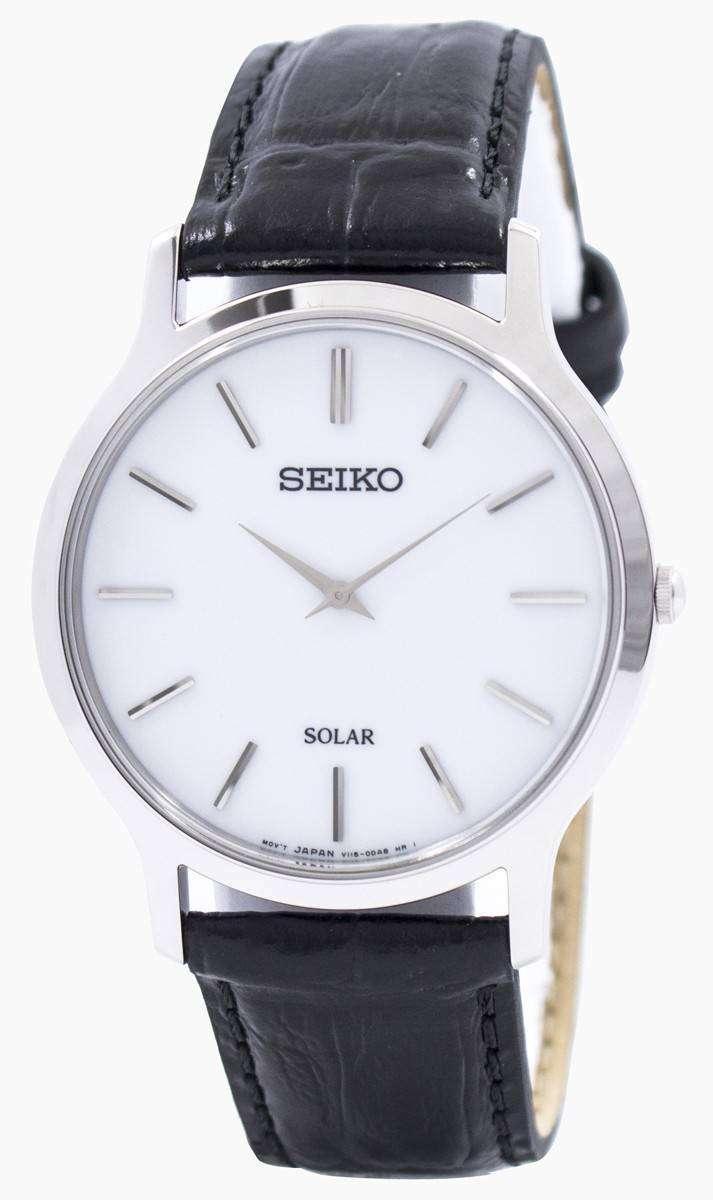 Seiko Solar Sup873 Sup873p1 Sup873p Mens Watch Zetawatches
