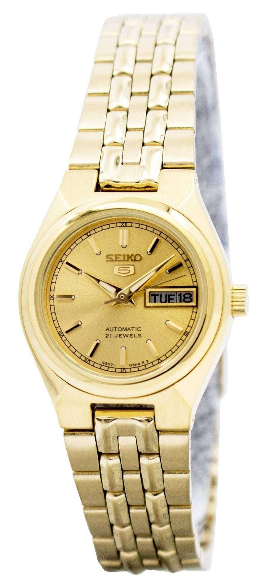 Seiko 5 Automatic 21 Jewels Syma04 Syma04k1 Syma04k Women S Watch Zetawatches