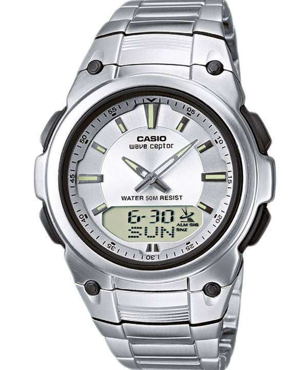 Casio Wave Ceptor Atomic Radio Controlled Analog Digital WVA-109HDE-7AV Mens Watch