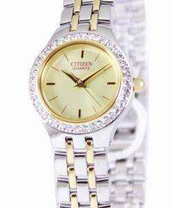 Citizen Quartz Swarovski Collection EJ6044-51P Womens Watch