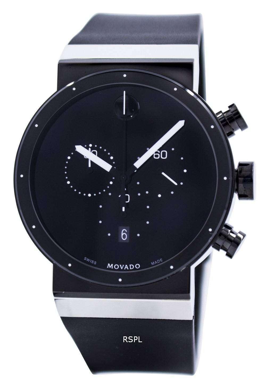 movado sapphire synergy chronograph swiss made quartz