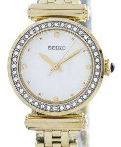 Seiko Quartz 44 Swarovski Crystals SRZ468 SRZ468P1 SRZ468P Women's Watch