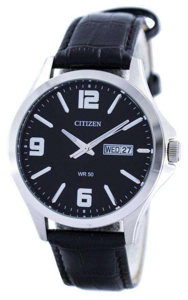 Citizen Quartz Black Dial BF2001-04E Mens Watch