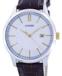 Citizen Quartz Silver Dial BI1054-04A Mens Watch