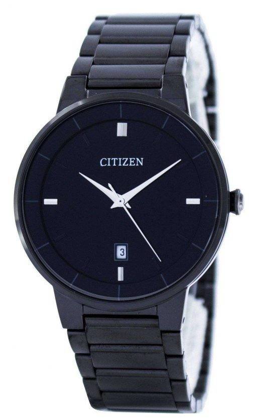 Citizen Quartz Black Dial BI5017-50E Mens Watch