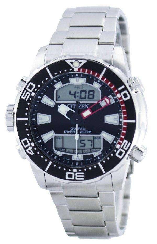 Citizen Aqualand Promaster Divers 200M Analog Digital JP1090-86E Mens Watch