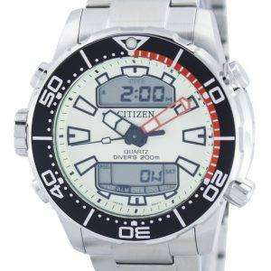 Citizen Aqualand Promaster Divers 200M Analog Digital JP1091-83X Mens Watch