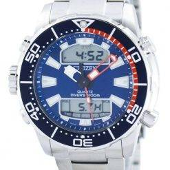 Citizen Aqualand Promaster Divers 200M Analog Digital JP1099-81L Mens Watch