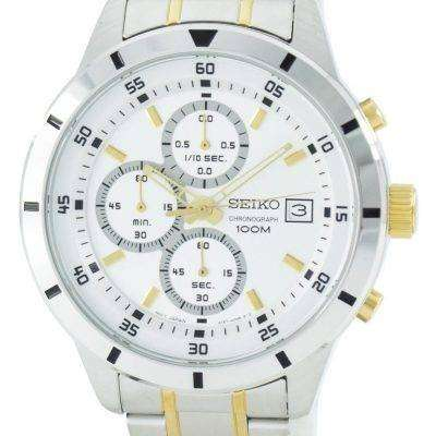 Seiko Quartz Chronograph SKS563 SKS563P1 SKS563P Men's Watch
