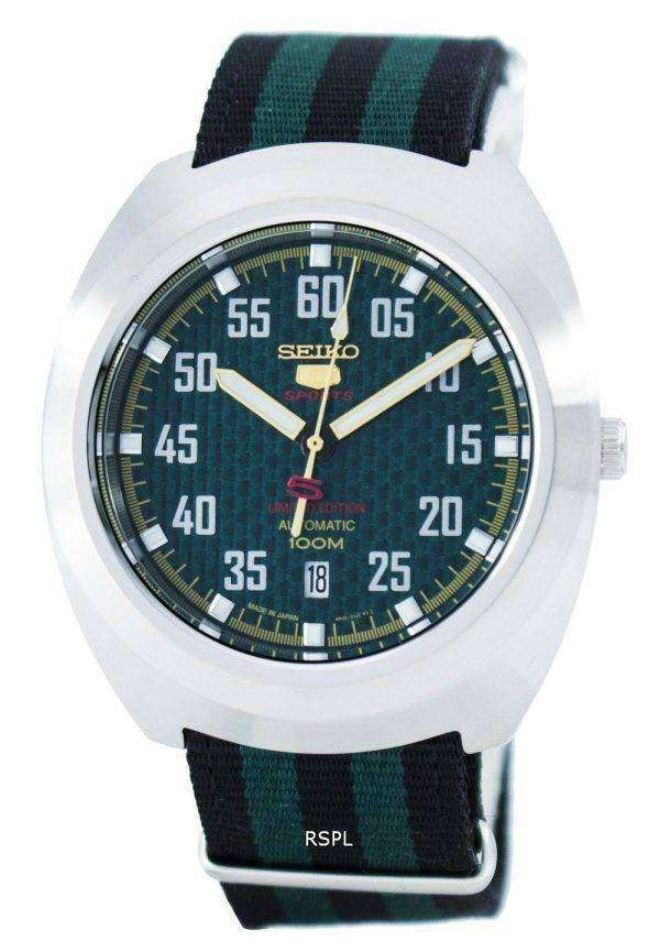 Seiko 5 Sports Limited Edition Automatic Japan Made SRPA89 SRPA89J1 SRPA89J Men's Watch