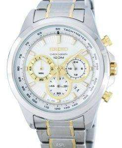 Seiko Dress Chronograph Quartz Tachymeter SSB245 SSB245P1 SSB245P Men's Watch