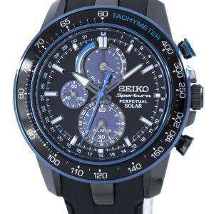 Seiko Sportura Perpetual Solar Multi-Function SSC429 SSC429P1 SSC429P Men's Watch