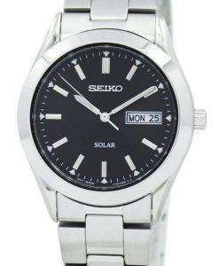 Seiko Solar Quartz SNE039P1 SNE039 SNE039P Mens Watch