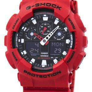 Casio G-Shock GA-100B-4A Analog-Digital Mens Watch