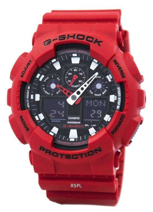 Casio G-Shock GA-100B-4A Analog-Digital Mens Watch