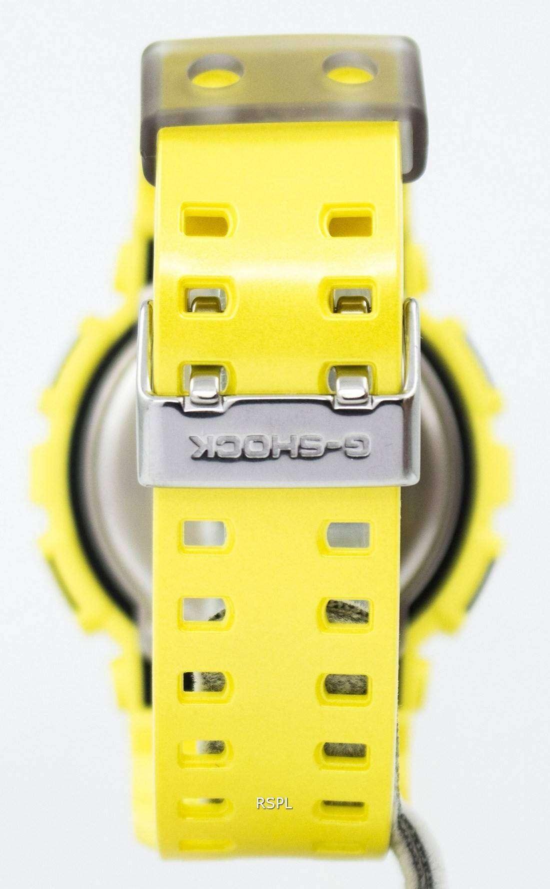 Casio G Shock Analog Digital World Time Ga 110nm 9a Mens Watch Gd X6900ht 2 Resin Band Blue