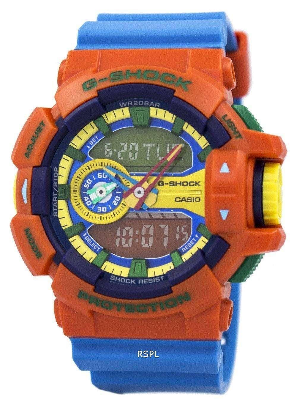 9bd79ccfa Casio G-Shock Analog-Digital Multi-Color 200M GA-400-4A Mens Watch ...