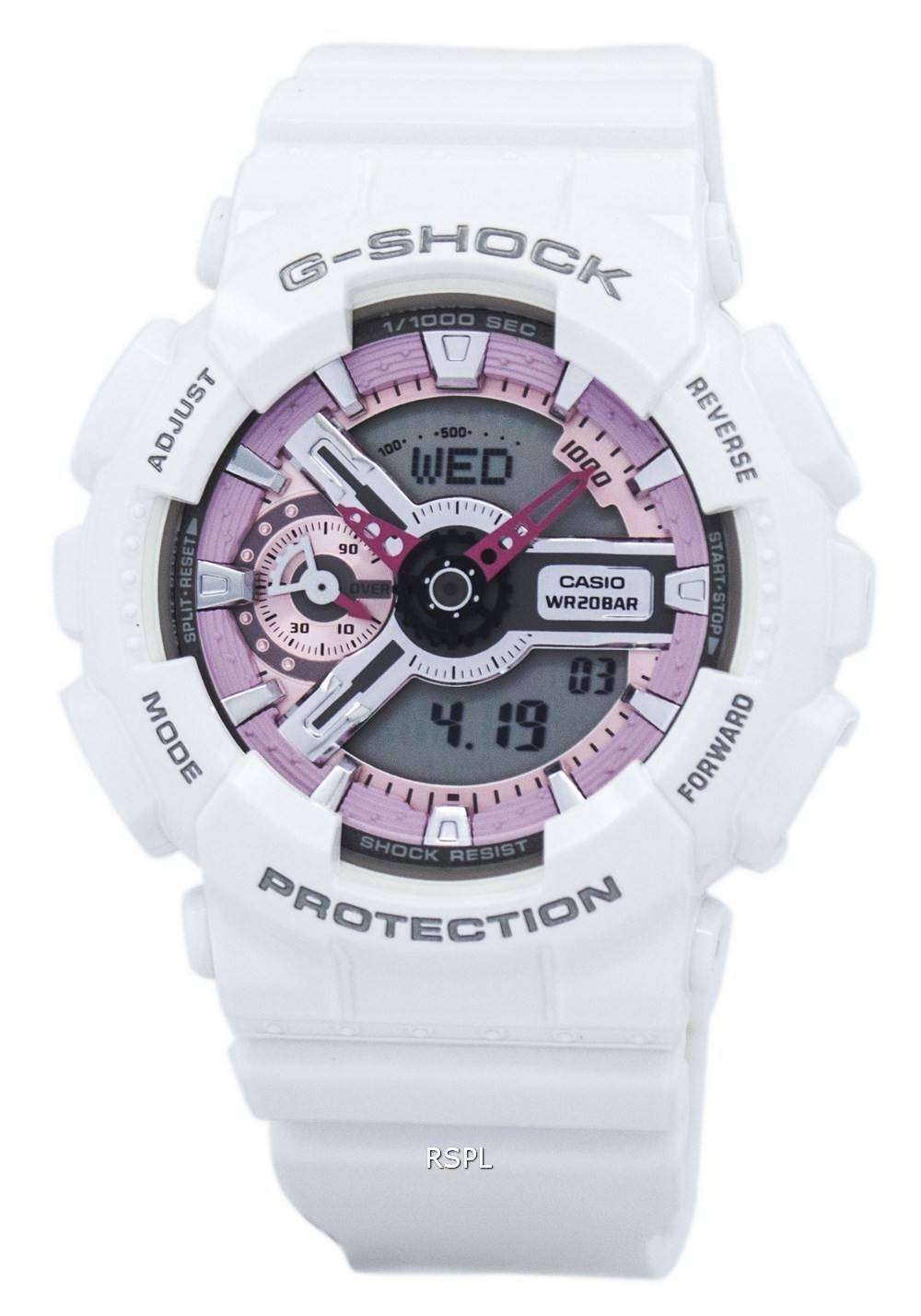 Casio G-Shock S Series Analog-Digital 200M GMA-S110MP-7A Women s Watch aa18cf11e5