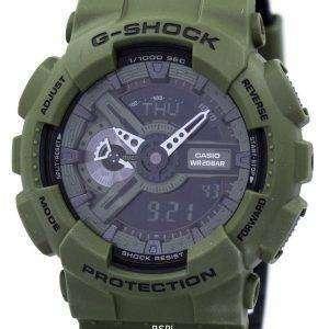 Casio G-Shock Shock Resistant World Time Alarm Analog Digital GA-110LP-3A Men's Watch
