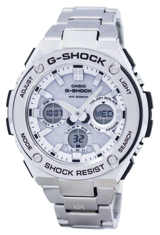 c847c554a4a Casio G-Shock Tough Solar Shock Resistant 200M GST-S110D-7A Men s Watch