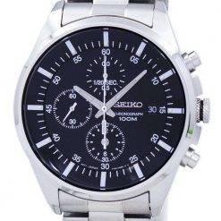 Seiko Chronograph Quartz SNDC81 SNDC81P1 SNDC81P Men's Watch