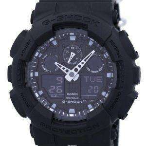 Casio G-Shock Analog Digital Shock Resistant 200M GA-100BBN-1A Men's Watch