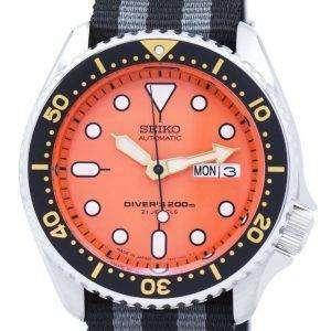 Seiko Automatic Diver's 200M NATO Strap SKX011J1-NATO1 Men's Watch