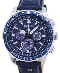 Seiko Prospex Solar Chronograph SSC609 SSC609P1 SSC609P Men's Watch