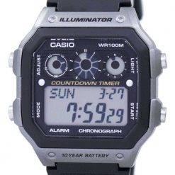 Casio Youth Series Illuminator Chronograph Alarm Digital AE-1300WH-8AV Men's Watch
