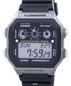Casio Youth Series Illuminator Chronograph Alarm Digital AE-1300WH-8AV Men's Watch