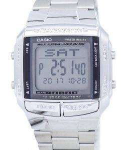 Casio Data Bank Illuminator Dual Time Alarm Digital DB-360-1A Men's Watch