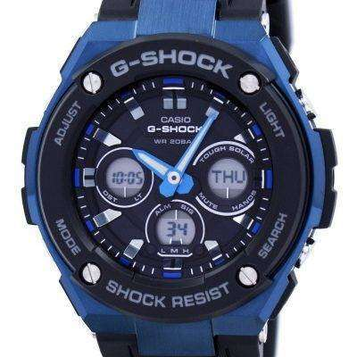 Casio G-Shock Tough Solar Shock Resistant Alarm GST-S300G-1A2 Men's Watch