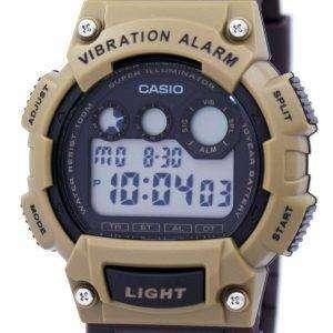 Casio Super Illuminator Vibration Alarm Digital W-735H-5AV Men's Watch