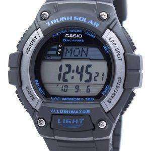 Casio Illuminator Tough Solar Lap Memory Alarm Digital W-S220-8AV Men's Watch