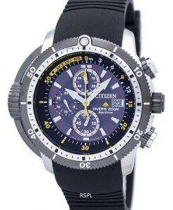 Citizen Promaster Aqualand Diver Eco-Drive Chronograph BJ2127-16E Men's Watch